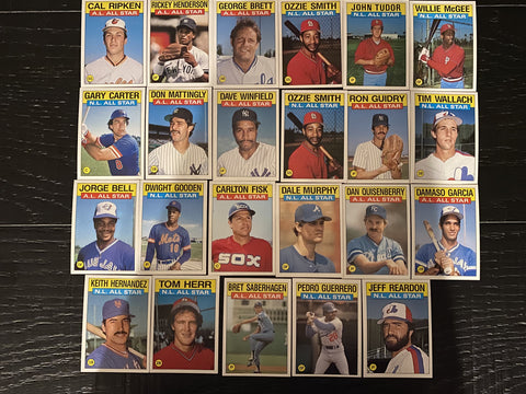 Topps All Star Lot of 33