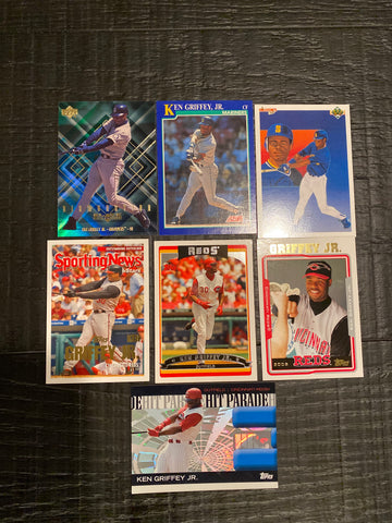 Ken Griffey Jr. lot of 7