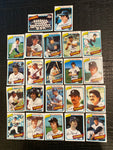 1980 Topps Baseball Detroit Tigers Team Lot 22/28 Cards No Dupes