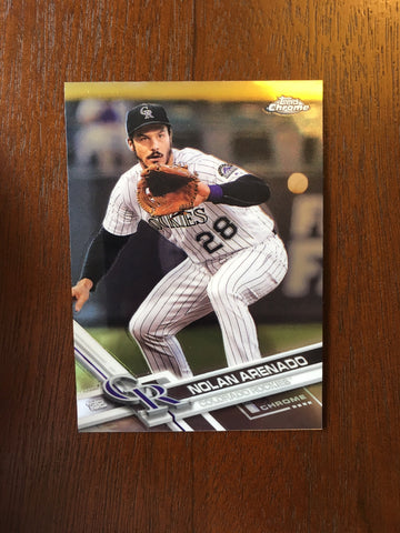 2017 Topps Chrome - Pick your Player 101-200