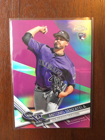 2017 Topps Chrome Pink Refractors - Pick your Player