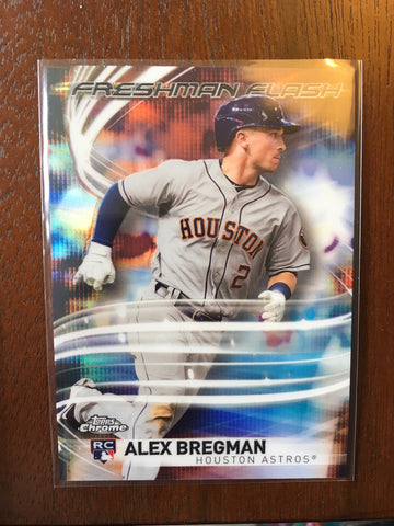 2017 Topps Chrome Freshman Flash - Pick your Player