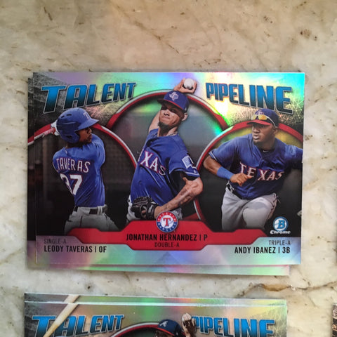 2019 Bowman Chrome Talent Pipeline- Pick your Player 1-30