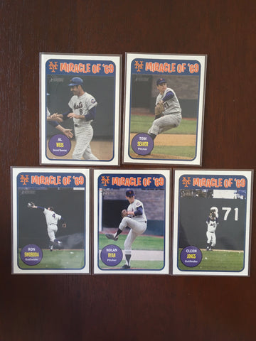 2018 Topps Heritage Miracle of '69 Complete Set