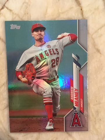 2020 Topps Rainbow 66 Andrew Heaney  - Angels