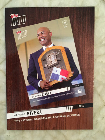 2020 Topps '19 Topps Now Review #TNR7 Mariano Rivera