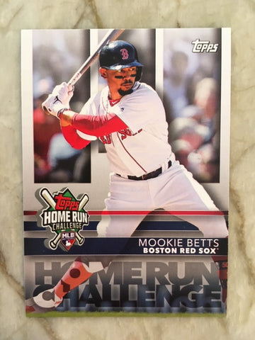 2020 Topps Home Run Challenge Code HRC-5 Mookie Betts - Boston Red Sox