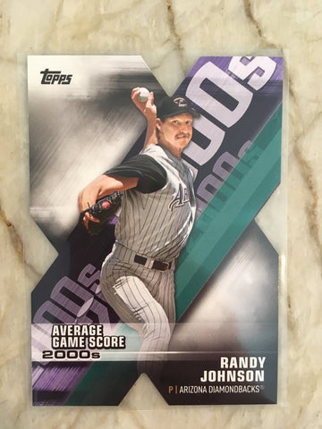 2020 Topps Decade Of Dominance Die Cuts DOD-14 Randy Johnson - Arizona Diamondbacks