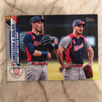 2020 Topps Series 1 Lot of 2 - #31 & #160 - Dual Player Cards