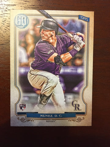 2020 Topps Gypsy Queen Colorado Rockies Singles