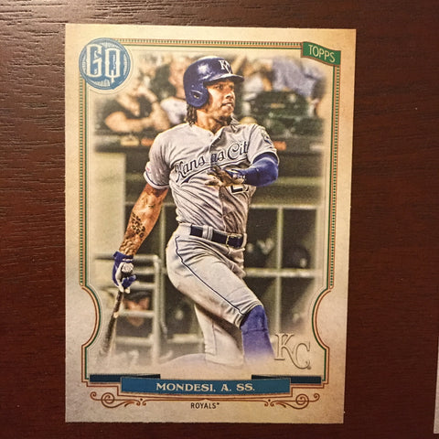 2020 Topps Gypsy Queen Kansas City Royals Singles