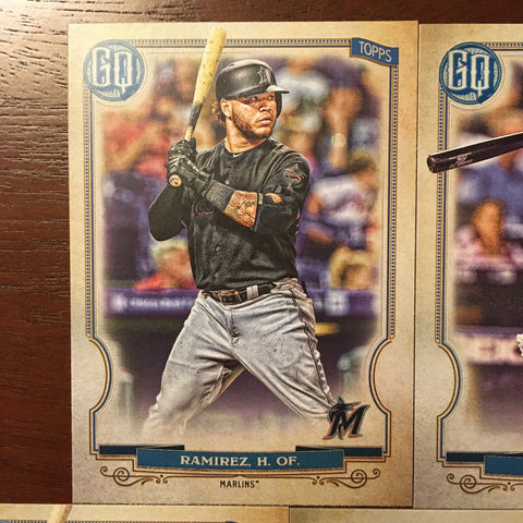 2020 Topps Gypsy Queen Miami Marlins Singles