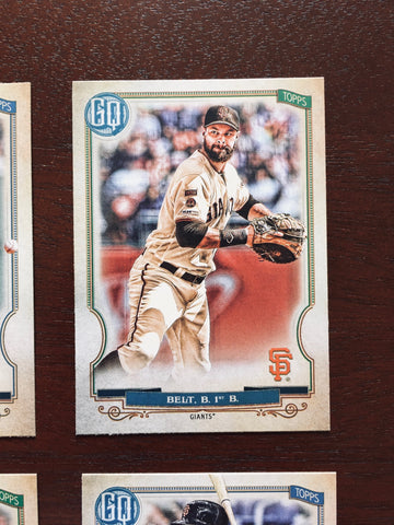 2020 Topps Gypsy Queen San Francisco Giants Singles
