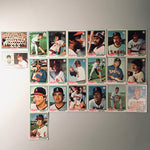 1978 Topps Baseball California Angels Team Lot 21/29 Cards No Dupes
