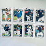 2020 Bowman Prospects Team Set - Tampa Bay Rays (8 Cards)