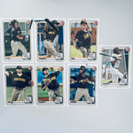 2020 Bowman Prospects Team Set - San Diego Padres (7 Cards)