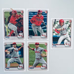 2020 Bowman Prospects Team Set - Philadelphia Phillies (5 Cards)