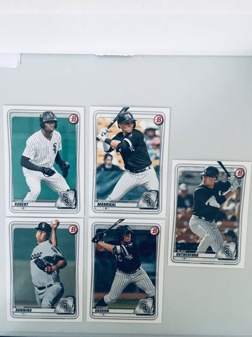 2020 Bowman Prospects Team Set - Chicago White Sox –  (5 Cards)