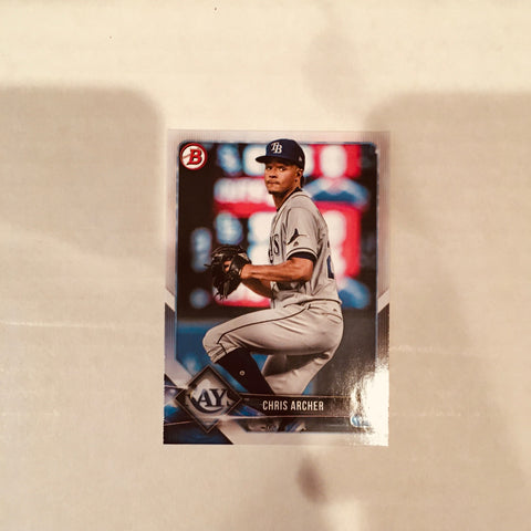 2018 Bowman Base Team Set - Tampa Bay Rays (1 Card)