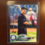 2018 Topps Base Set Photo Variations #454 Kyle Seager/Blue shirt