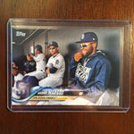 2018 Topps Base Set Photo Variations #430 Manny Margot/Blue hoodie