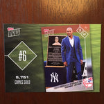 2018 Topps Top 10 Topps Now Inserts - Judge, Ruth, Stanton - Yankees
