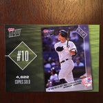 2018 Topps Top 10 Topps Now Inserts Complete 10 Card Set - Checklist inside