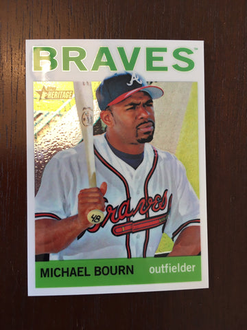 2013 Topps Heritage Chrome #HC85 Michael Bourn 535/999