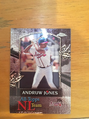2000 Topps Chrome All-Topps #AT8 Andruw Jones