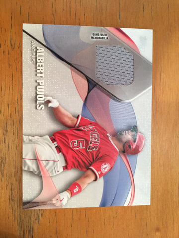 2017 Topps Major League Materials #MLMAP Albert Pujols S2