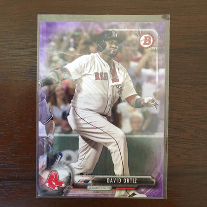 2017 Bowman Purple #52 David Ortiz 155/250