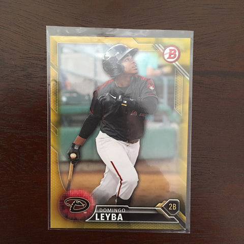 2016 Bowman Prospects Gold #BP3 Domingo Leyba 30/50