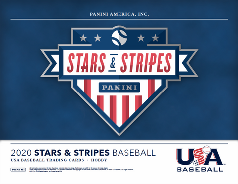 2020 PANINI STARS & STRIPES BASEBALL