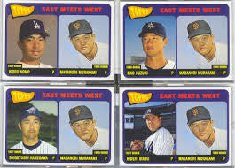 2002 Topps East Meets West Insert Set