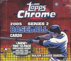 2005 Topps Chrome Series 2- Singles 357-400