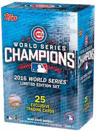 2016 Topps Chicago Cubs World Series Commemorative 25 Card Set