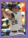 2014 Topps Chrome Purple Refractors Set