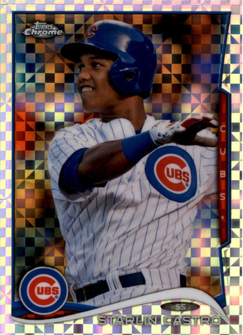 2014 Topps Chrome X-Fractors Set