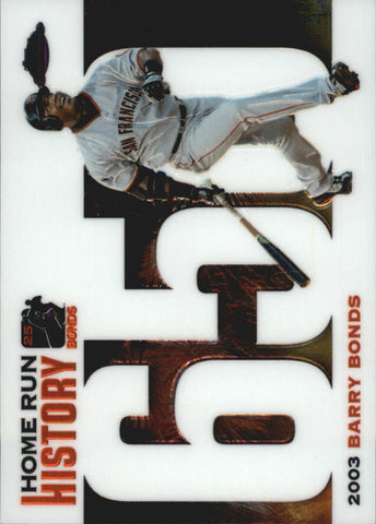 2005 Topps Chrome Update Barry Bonds Home Run History #650 Barry Bonds - Giants