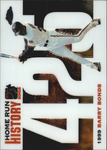 2005 Topps Chrome Update Barry Bonds Home Run History #425 Barry Bonds - Giants