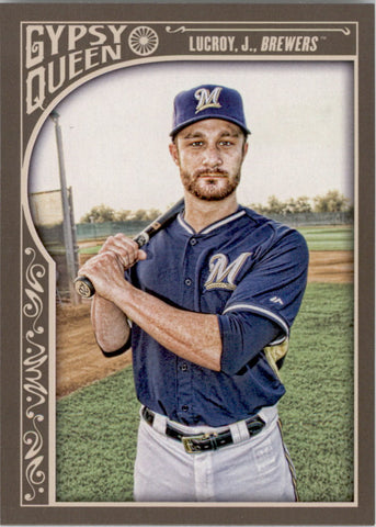 2015 Topps Gypsy Queen #162 Jonathan Lucroy