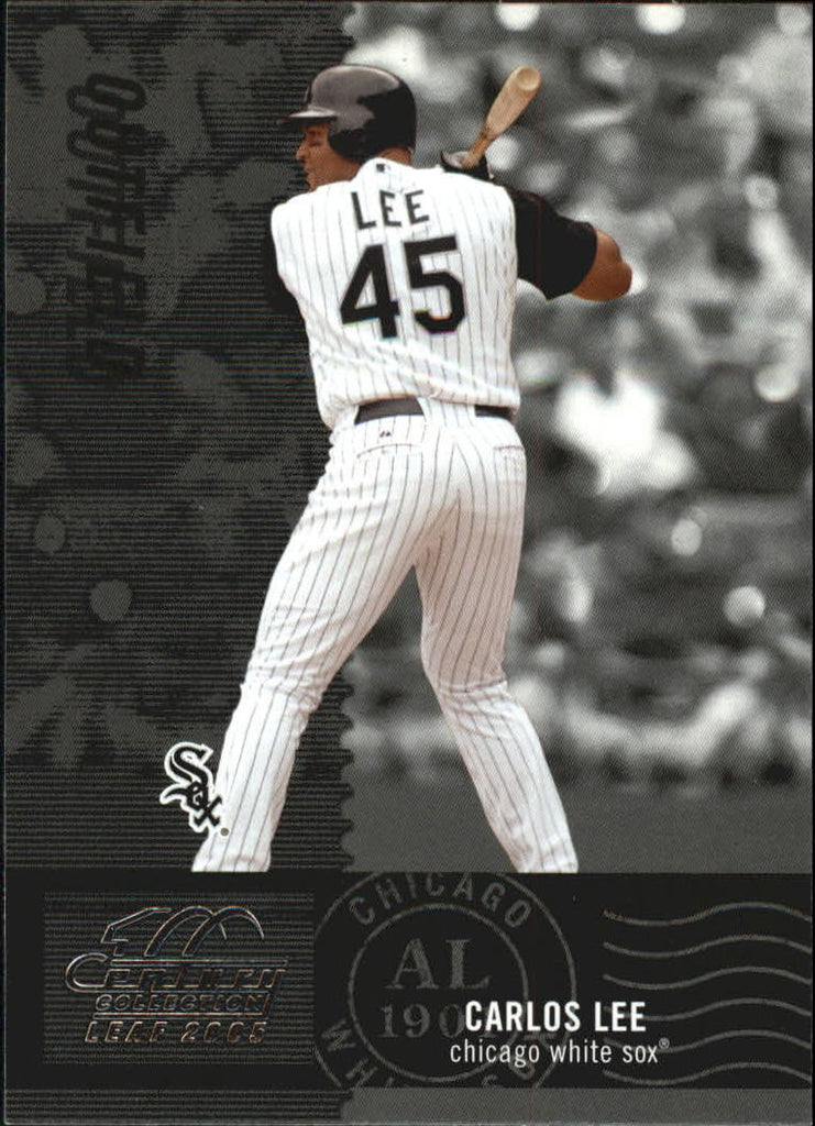 2005 Leaf Century #145 Carlos Lee - White Sox