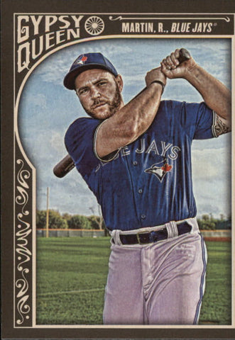 2015 Topps Gypsy Queen #222 Russell Martin