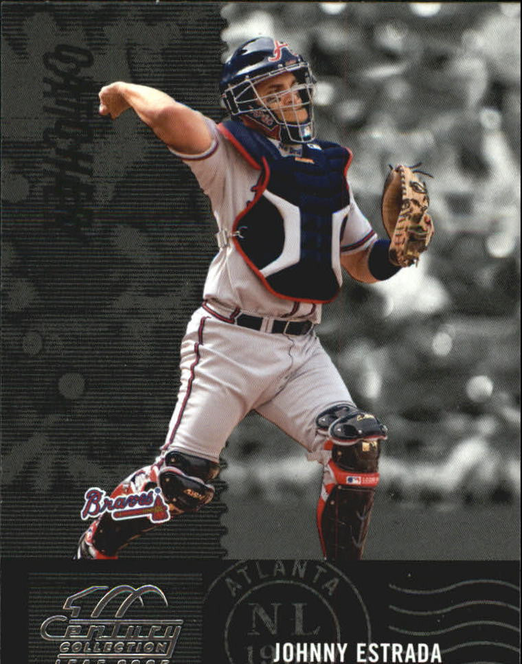 2005 Leaf Century #168 Johnny Estrada - Braves