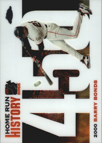 2005 Topps Chrome Update Barry Bonds Home Run History #450 Barry Bonds - Giants
