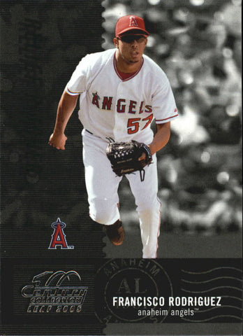 2005 Leaf Century #157 Francisco Rodriguez - Angels