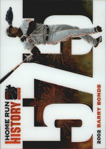2005 Topps Chrome Update Barry Bonds Home Run History #575 Barry Bonds - Giants