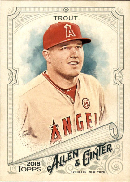 2018 Topps Allen and Ginter Glossy Silver