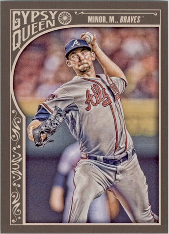2015 Topps Gypsy Queen #270 Mike Minor