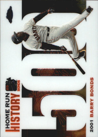 2005 Topps Chrome Update Barry Bonds Home Run History #500 Barry Bonds - Giants